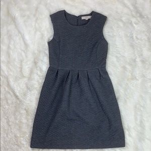 Loft Sleeveless Gray Dress